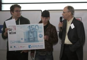 YWP Wettbewerb 1 Platz mit Frank Baumann