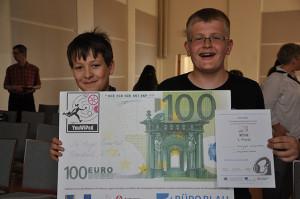 YouWiPod_Gewinner Jesse Schlink u Florian Engel aus Hohen Neuendorf